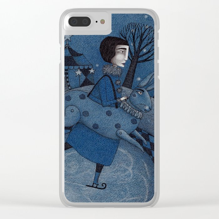 December Park (2) Clear iPhone Case