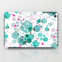 bees iPad Cases featuring Bees by rudziox