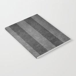 Grey Stripes Notebook