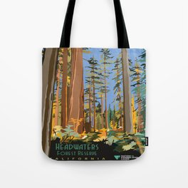 Vintage poster - Headwaters Forest Reserve Tote Bag