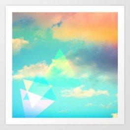 Colorscape #1 Art Print