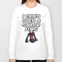 kill la kill Long Sleeve T-shirts featuring Kill la kill - SENKETSU by Fenlaf