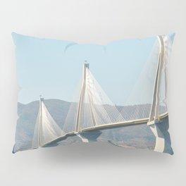 Rio Antirrio Bridge Pillow Sham