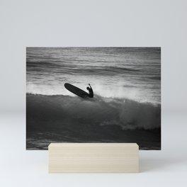 Longboard. Mini Art Print