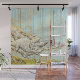 The Clouds Come In Wall Mural