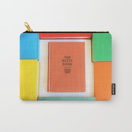 The Betty Book Carry-All Pouch