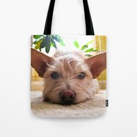 custom Tote Bags featuring Custom Order by Canis Picta