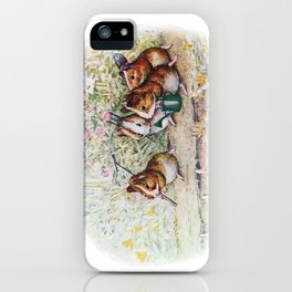 Little Hamster Garden iPhone Case