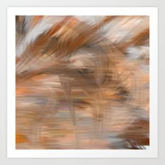 Fragment 13: Storm in the Sea of Earth Art Print