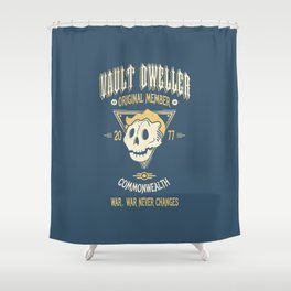 Vault Dweller Shower Curtain