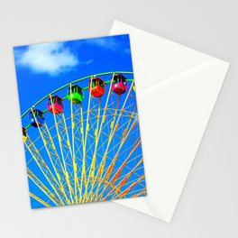 Colorful Ferris Wheel Stationery Cards