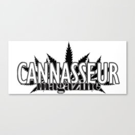 Cannasseur Magazine Canvas Print
