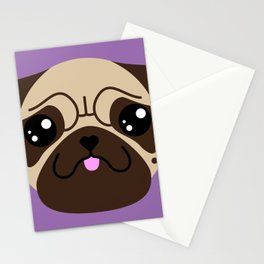 VITO the pug (Chibipalz) Stationery Cards