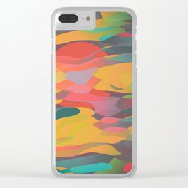 Fairytale Sunset Clear iPhone Case