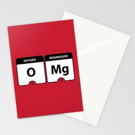 OMG Periodic Table Stationery Cards