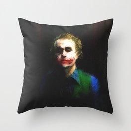 everything burns Throw Pillow