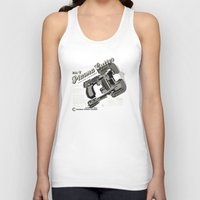 dead space Tank Tops featuring Dead Space - Plasma Cutter by CaptainLaserBeam