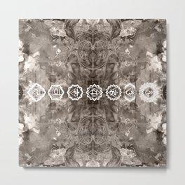 Chakras II Metal Print