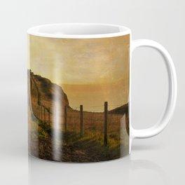 On Shakespeare Cliff Coffee Mug