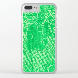 Life is a puzzle 22 Clear iPhone Case