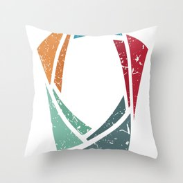 Back to Basics (Brite) Throw Pillow
