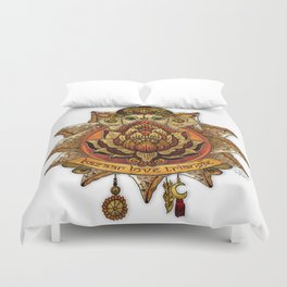 Keep Korma and Curry On Duvet Cover