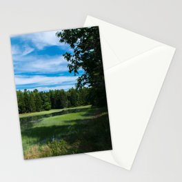 A Maine Marshland Stationery Cards