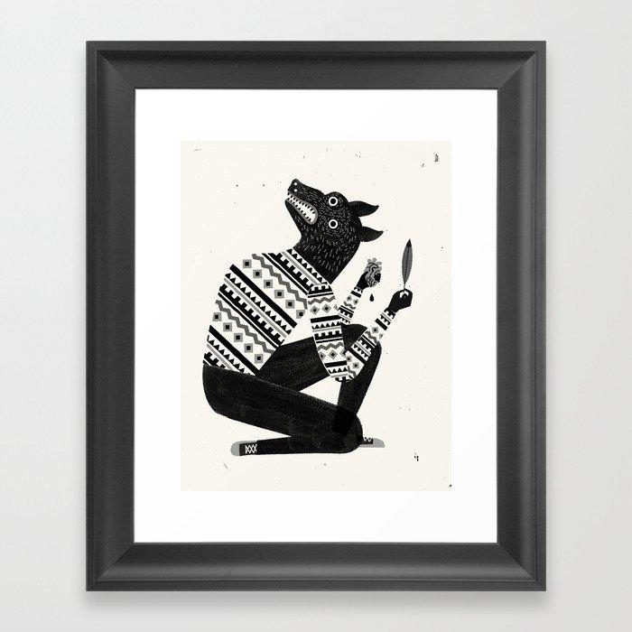 Afterlife Framed Art Print