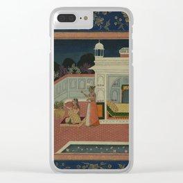 Persian Miniature I Clear iPhone Case