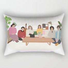 Terrace House Rectangular Pillow