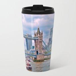 London Tower Bridge Blue Travel Mug