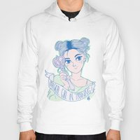 magical girl Hoodies featuring MAGICAL GIRL IN TRAINING by Natalie Nardozza