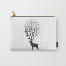patient deer Carry-All Pouch