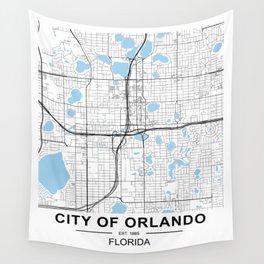 City of Orlando, Florida Wall Tapestry