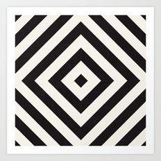 echo II - black Art Print