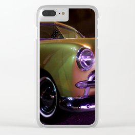 Custom Coupe Clear iPhone Case