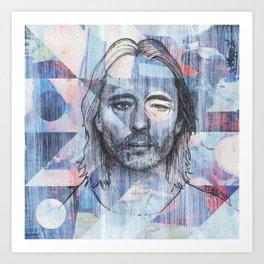 Thom Yorke - Where I End and You Begin Art Print