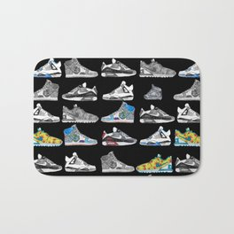 Seek the Sneakers Bath Mat