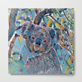 Mosaic - Koala 2 Metal Print