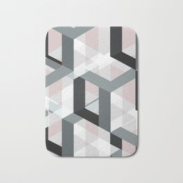 geometric 11 Bath Mat