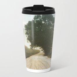 Cades Cove Tree of Life Landscape Photograph Gatlinburg Tennessee Metal Travel Mug