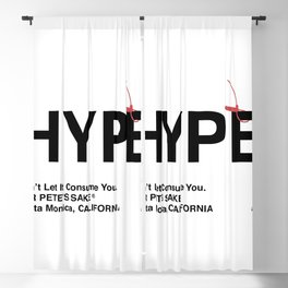 """HYPE"" Blackout Curtain"