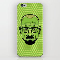 Walter White Portrait. iPhone & iPod Skin