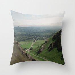Winnats Pass Throw Pillow