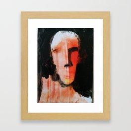DUALITY, original art by jack larson Framed Art Print