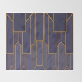 ART DECO G3 (abstract artdeco geometric) Throw Blanket