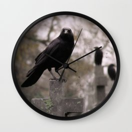 Cross Sitters Wall Clock