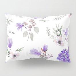Violet pattern IIIl Pillow Sham