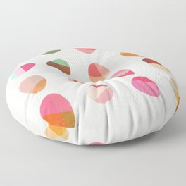 Painted Pebbles 5 Floor Pillow