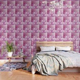 Lotos Flowers Pink Wallpaper